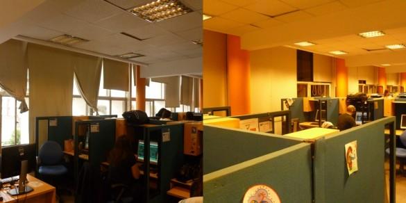 El cambio de la oficina con cortinas rollershow lo mejor for Oficina de cambio