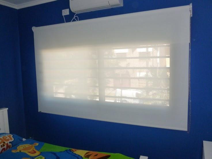 Sun Screen en dormitorio