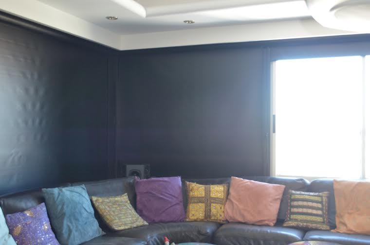 Cortinas black out en sala de video lo mejor del mercado - Cortinas screen opiniones ...