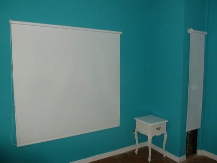 Contraste Roller en paredes de Colores!