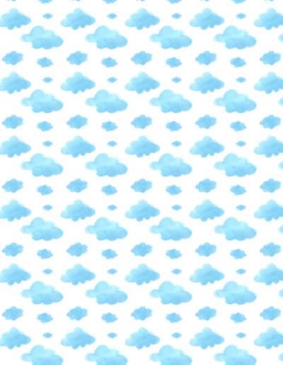 Infantiles 3 Nubes Celestes