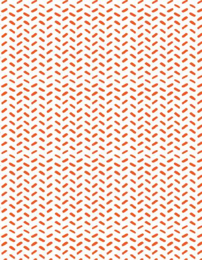 Lineales 5 Manchas Naranjas
