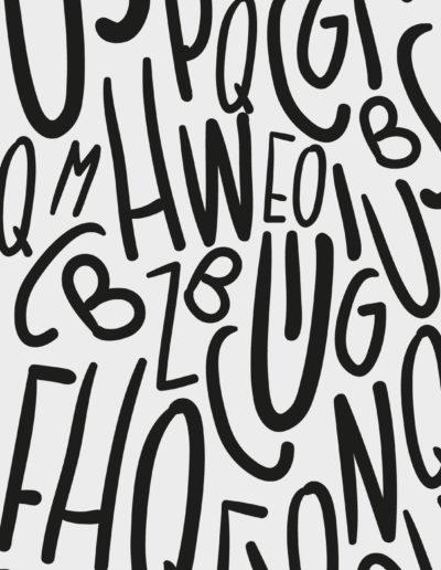 Tipográficos 1 Negras