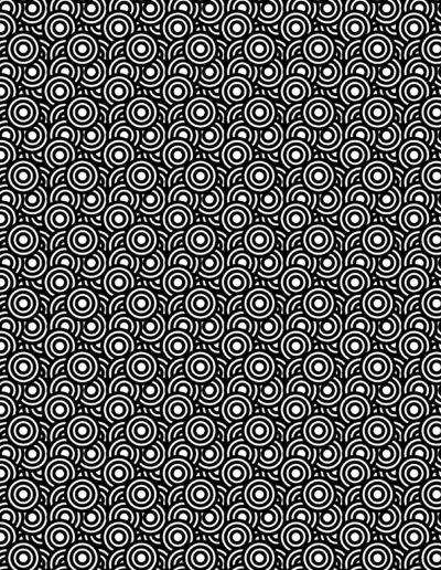 Tramas 14 Circulos Negros