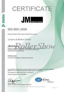 Cortinas roller deco ISO 9001