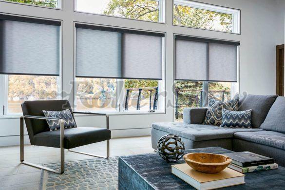 Cortinas Roller Deco Privacidad Y Luz Natural Decorativas